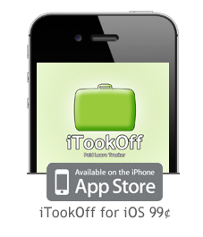 Purchase iTookOff for iOS, 99 cents.
